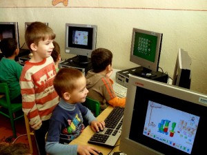 Deti pri počítači