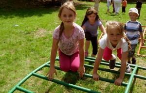 Deti na preliezke