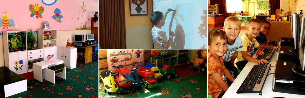 Naša materská škola je vybavená modernými učebnými pomôckami