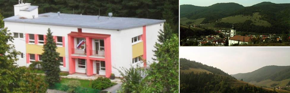 Materská škola Slovinky sa nachádza v krásnom prostredí